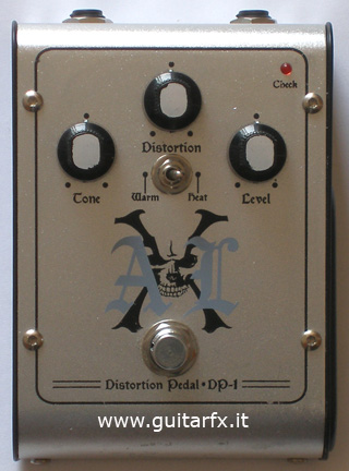 DP-1 Distortion Pedal (AXL) - Top
