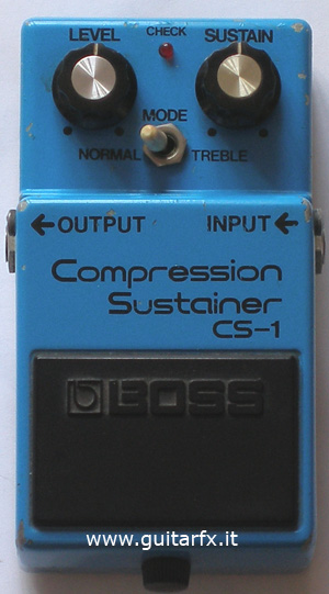 CS-1 Compression Sustainer (Boss)