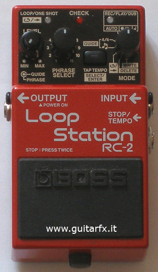boss rc 2 loop station guitar effects. Black Bedroom Furniture Sets. Home Design Ideas