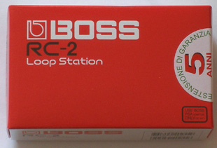 RC-2 Loop Station box (Boss)