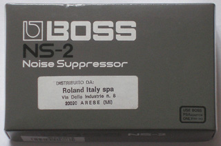 NS-2 Noise Suppressor (Boss) Box (italian version)